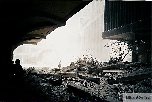 September 11, 2001 Photograph from Outside